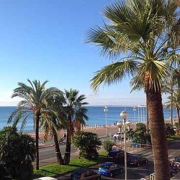 Promenande des Anglais in Nice